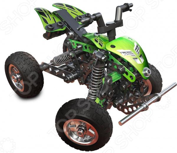 Конструктор-игрушка Meccano «Квадроцикл» 91778 какой мотоцикл бу можно или квадроцикл за 30 000