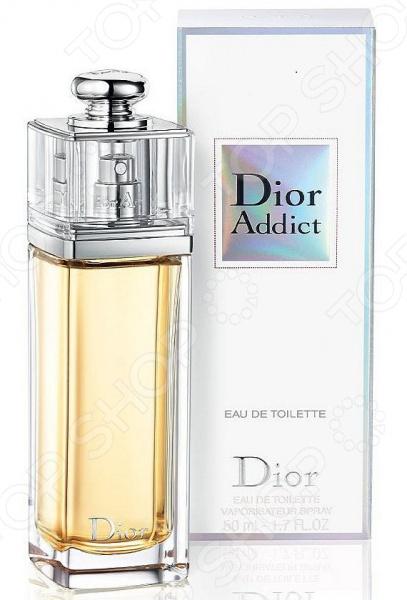 Туалетная вода для женщин Christian Dior Addict, 50 мл туалетная вода для женщин christian dior addict 50 мл
