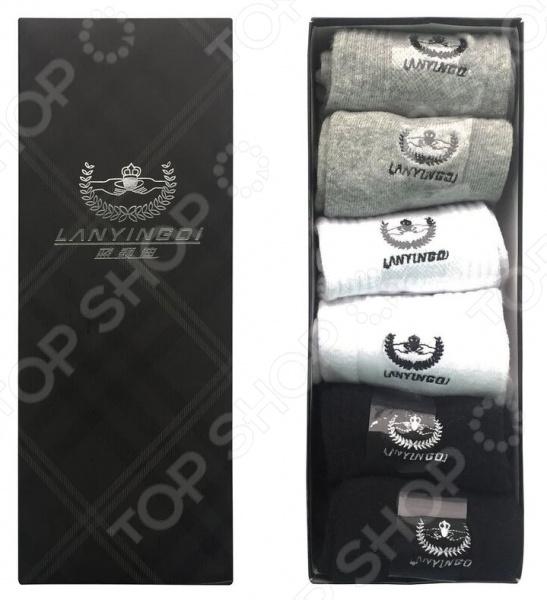 цены Комплект носков мужских Lanyingdi БП-00000112