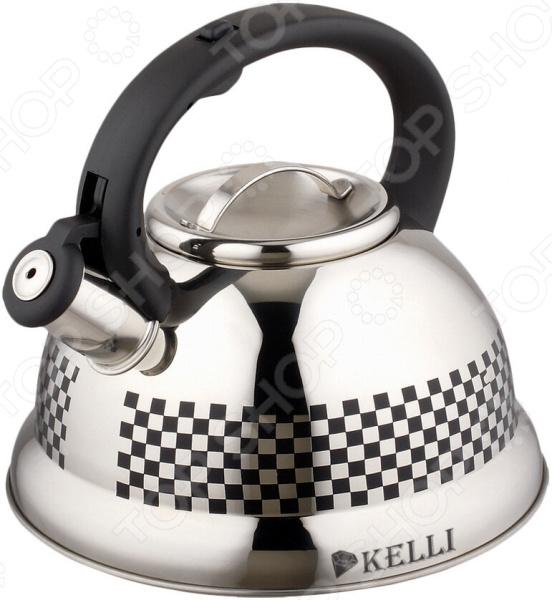 Чайник для плит Kelli KL-4300 «Хамелеон»