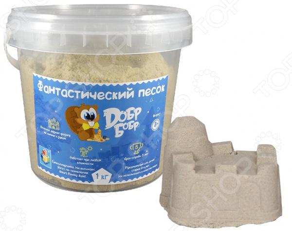 Песок кинетический 1 Toy средний «Добр бобр»