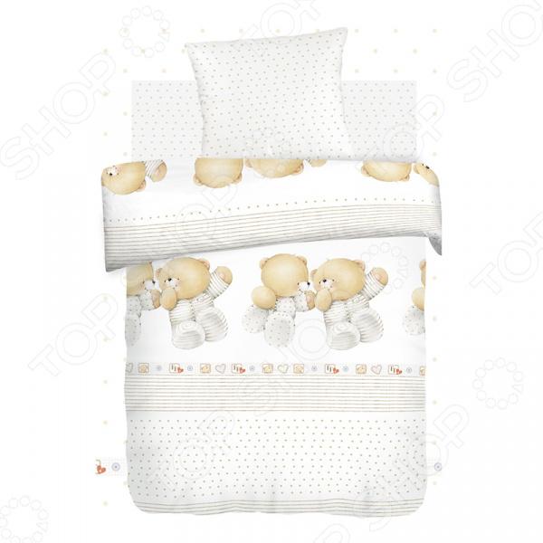 Ясельный комплект постельного белья Непоседа «Близнецы» Непоседа - артикул: 1321004