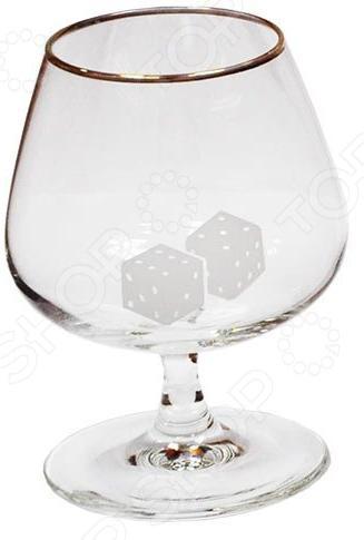 Набор бокалов для бренди Гусь Хрустальный «Кости» набор бокалов для бренди гусь хрустальный версаче 400 мл 6 шт