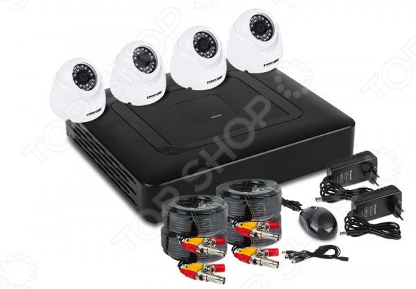 Комплект видеонаблюдения PROconnect 45-0403 4 3 inch ahd