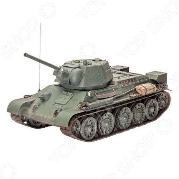 Сборная модель танка Revell T-34/76. Масштаб: 1:35