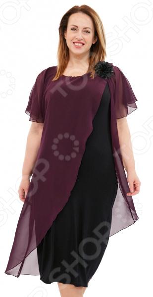 Платье Матекс «Загадочная незнакомка». Цвет: фиолетовый