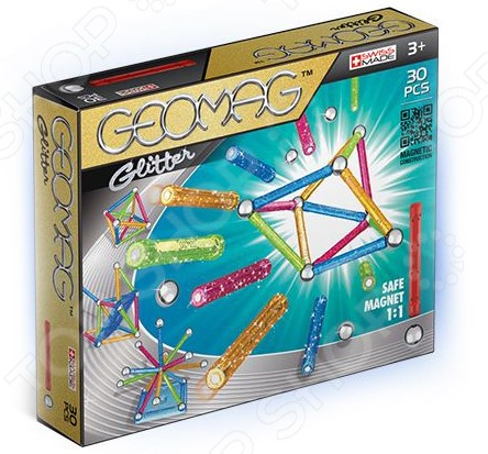 Конструктор магнитный Geomag 531 Glitter