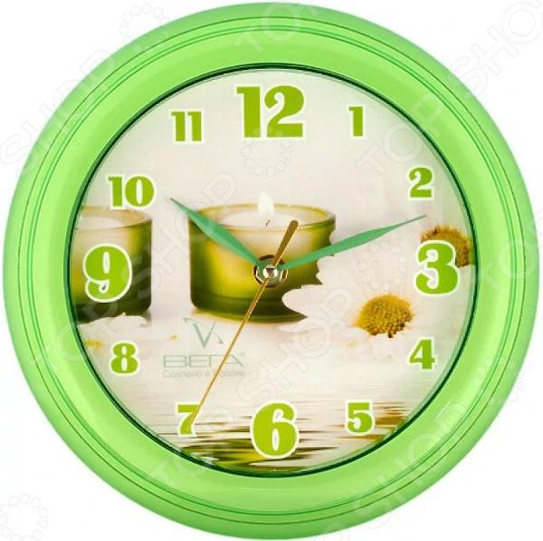 Часы настенные Вега П 6-3-10 «Свеча»
