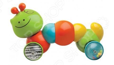 Погремушка B kids «Гусеничка - путешественница» развивающие игрушки huile toys гусеничка для малышей