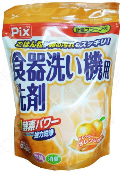 Средство для мытья посуды Lion Chemical PIX с ароматом цитрусовых finish classic средство для мытья посуды в посудомоечных машинах в таблетках 28 шт