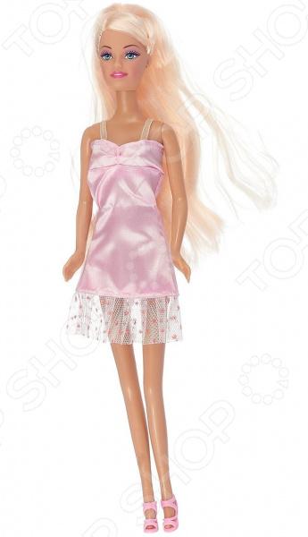 Кукла с аксессуарами Toys Lab «Блондинка в розовом платье с пылесосом: Уборка» toys lab летний домик toys lab тойз лаб