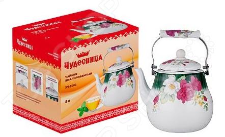 Чайник эмалированный Чудесница ЭЧ-5002 электрический чайник чудесница эч 2010