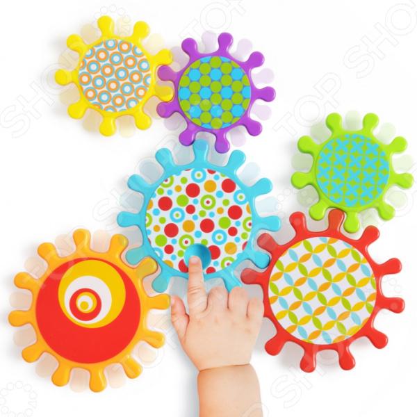 Набор детских игрушек для ванны Happy Baby Mechanix