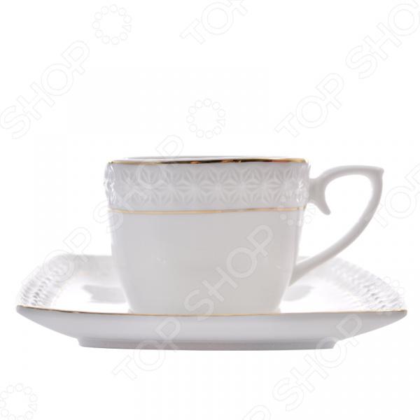Чайная пара Коралл LQ507009-A «Снежная королева» Коралл - артикул: 535843