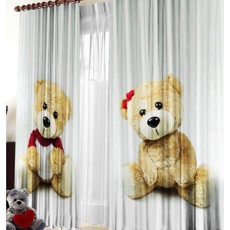 Фотошторы детские Zlata Korunka «Медвежата»
