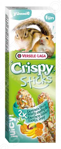 Лакомство для хомяков и белок Versele-Laga Crispy «Палочки с экзотическими фруктами»