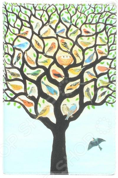 Визитница Mitya Veselkov «Дерево с птичками» визитницы mitya veselkov визитница олени на черном