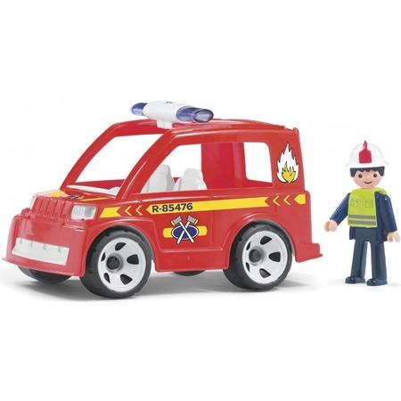 Купить Машинка игровая EFKO «Пожарный автомобиль и водитель»