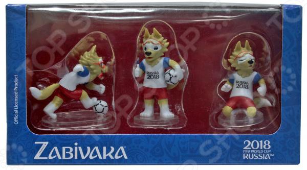 Набор фигурок декоративных FIFA 2018 Zabivaka set standard fifa 2014 как игрока