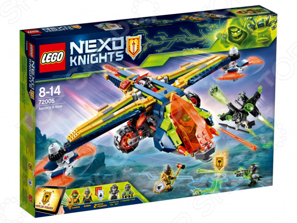 Конструктор игровой LEGO Nexo Knights «Аэро-арбалет Аарона»