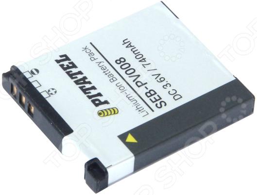 Аккумулятор для камеры Pitatel SEB-PV008 для Canon PowerShot A2200/A3000/A3100, 740mAh