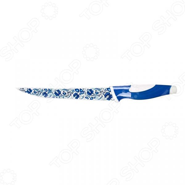 Нож Miolla слайсер «Гжель»