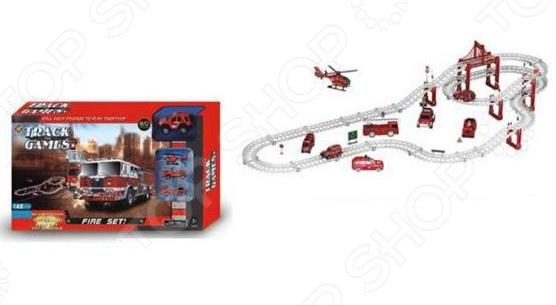 Трек гоночный Наша Игрушка «Пожарная бригада» аксессуары для игровых приставок