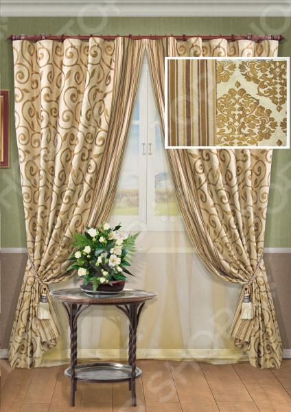 Комплект штор Kauffort Toscana-ST шторы kauffort классические шторы barolo