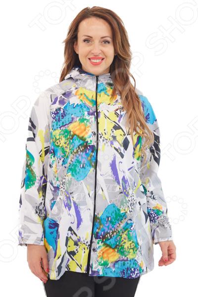 Куртка Лауме-Лайн «Вилен». Цвет: бирюзовый