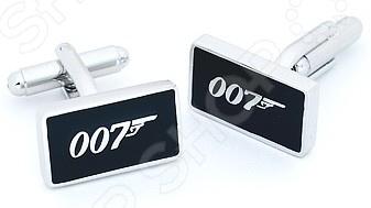 Запонки Mitya Veselkov «Агент 007» запонки mitya veselkov запонки буква е