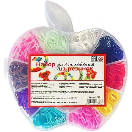 Купить Набор для плетения из резинок Color Kit «Яблоко»