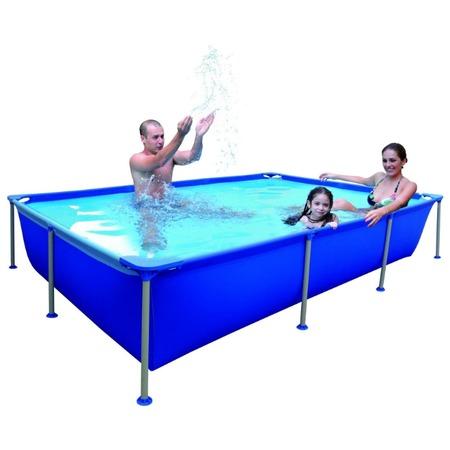 Купить Бассейн каркасный Jilong Rectangular Steel Frame Pools JL016101NG