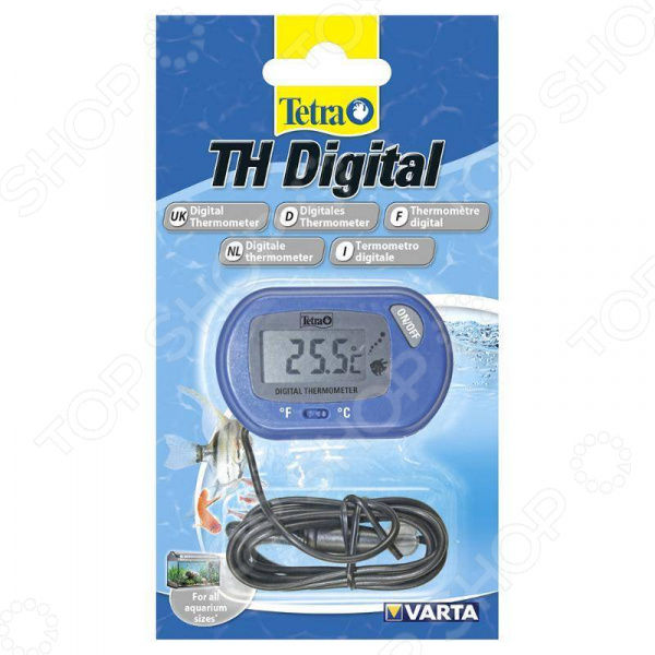 Термометр для аквариума Tetra TH Digital Thermometer mingle th108 indoor thermometer