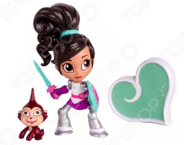 Мини-фигурка с аксессуарами Nickelodeon «Рыцарь Нелла» игрушка фигурка nickelodeon рафаэль