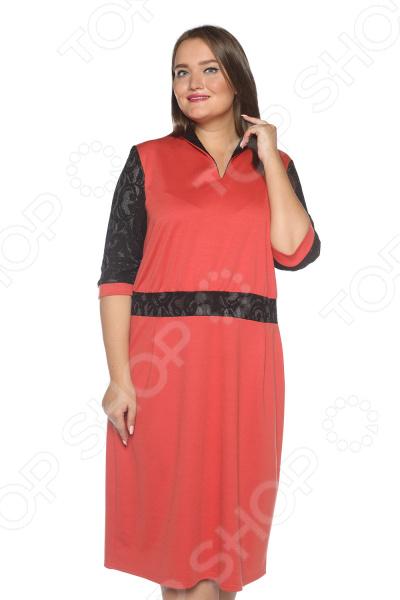 Платье Pretty Woman «Знатная дама». Цвет: терракотовый