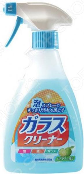 Спрей-пена для мытья стекол Nihon Detergent 828353 чистящая спрей пена для ванны nihon detergent с антибактериальным эффектом и апельсиновым маслом 400 мл