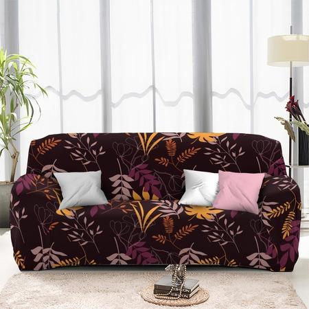 Купить Чехол на четырехместный диван «Листопад». Размер: 240х290 см