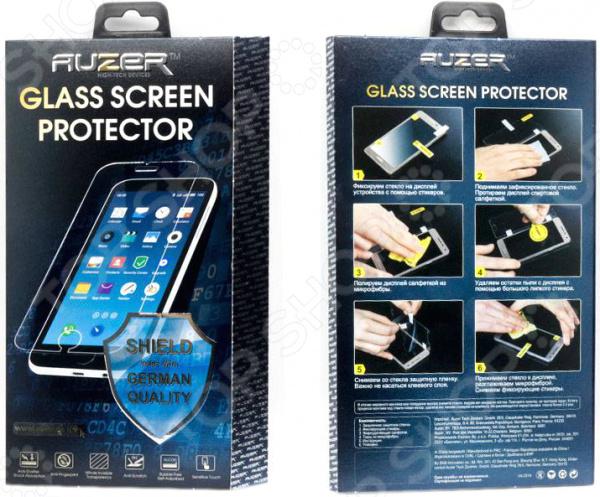 Стекло защитное Auzer AG-SS 6 для Samsung S6 samsung galaxy s6 case anti slippery устойчивость к царапинам противоударная легкая крышка бампера для samsung galaxy s6