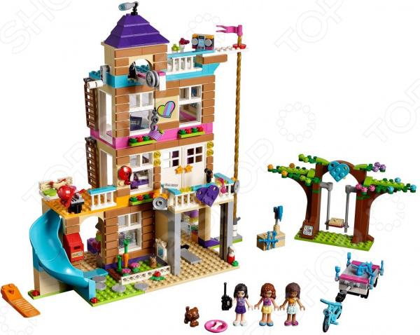 Конструктор игровой LEGO 41340 Friends «Дом дружбы» lego конструктор подружки спортивный лагерь дом на дереве