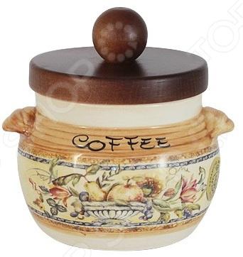 Банка для сыпучих продуктов LCS «Старая Тоскана. Кофе» банка для сыпучих продуктов чай lcs старая тоскана lcs670plt ot al