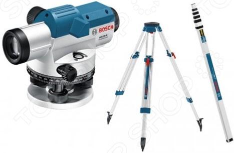 Нивелир оптический Bosch GOL 26D+BT160+GR500 цена
