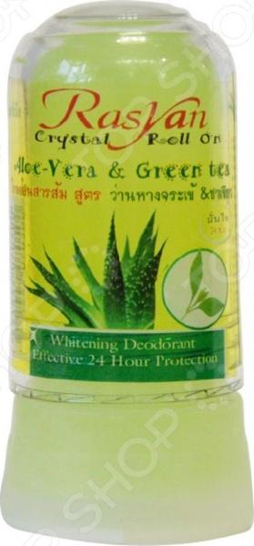 Дезодорант-стик для нормальной и чувствительной кожи Rasyan Crystal Aloe Vera & Green Tea Дезодорант-стик для нормальной и чувствительной кожи Rasyan Crystal Aloe Vera & Green Tea /