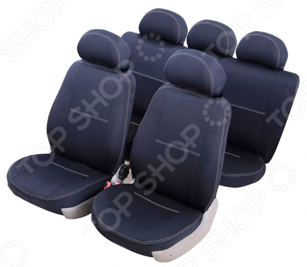 Набор чехлов для сидений Azard Standart Datsun On-Do 2014, Накидки на сидения. Накладки на ремни - артикул: 1778412