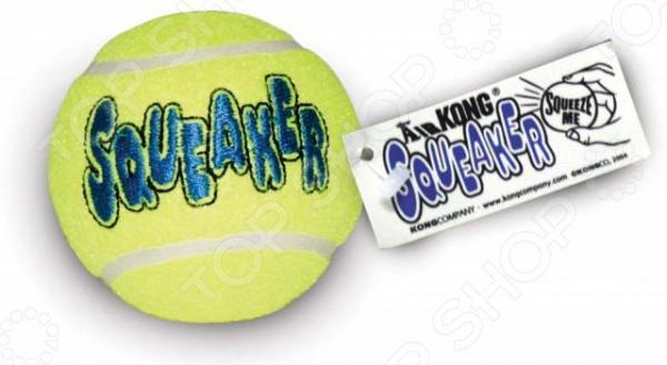 Игрушка для собак Kong Air «Теннисный мяч» средний AST1B