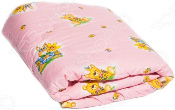 Одеяло детское Dream Time «Медвежонок и зайка»