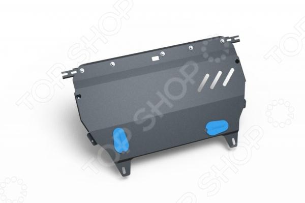 Комплект: защита картера и крепеж Novline-Autofamily Citroen С3, DS3 2010: 1,4/1,6 бензин МКПП/АКПП ds3