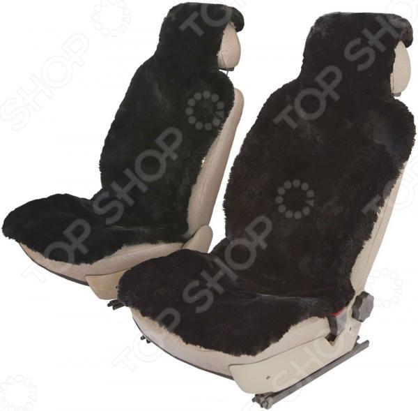 Комплект меховых накидок на сиденья Senator Country Premium шапка меховых