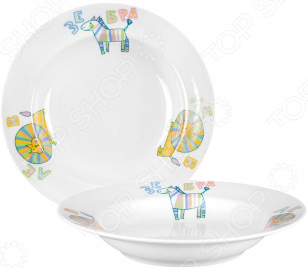 Тарелка для малыша Дулевский Фарфор «Детский»