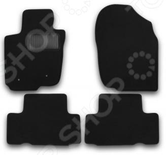 Комплект ковриков в салон автомобиля Klever Toyota RAV4 2010-2013 Premium защита картера и кпп автоброня toyota rav4 2006 2010 toyota rav4 2010 2013 toyota rav4 2013 2015 сталь 2 мм