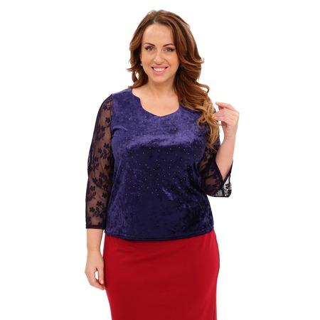 Купить Блуза Матекс «Звездный блеск». Цвет: синий